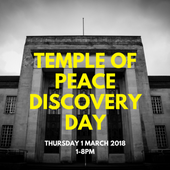 TEMPLE OF PEACE DISCOVERY DAY Social media